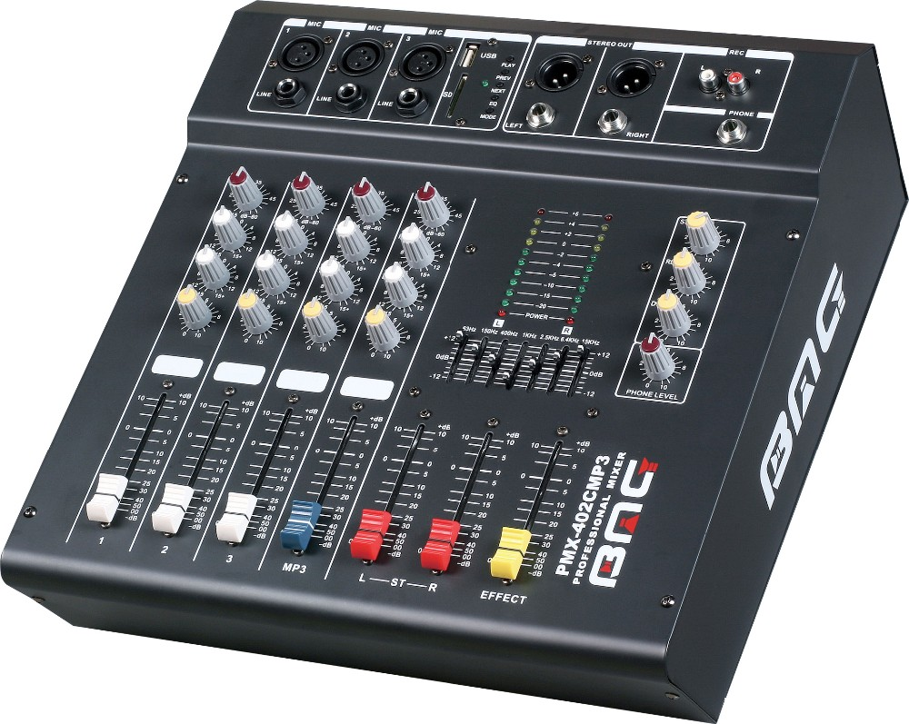 Factory Price Gb 8 24 Channels Soundcraft Audio Mixer