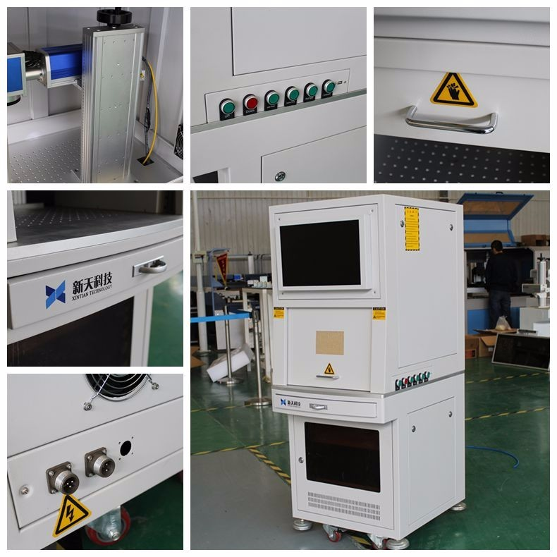 High Speed optical Mini portable 20w fiber laser marking machine