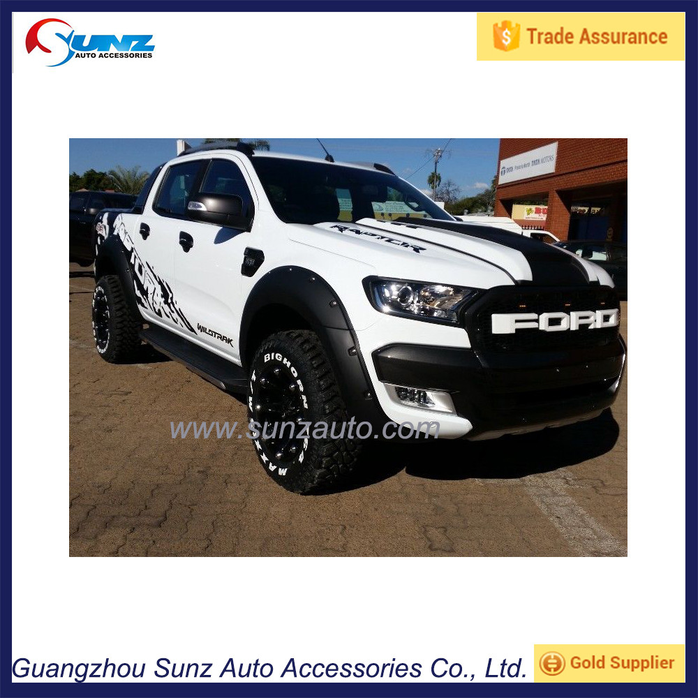 Abs Plastic Hilux Fender Flares For Revo 2016 4x4 Big Type