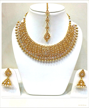 New Fashionable Women Wear Imitation Jewelry Necklace Set - NNS2g819