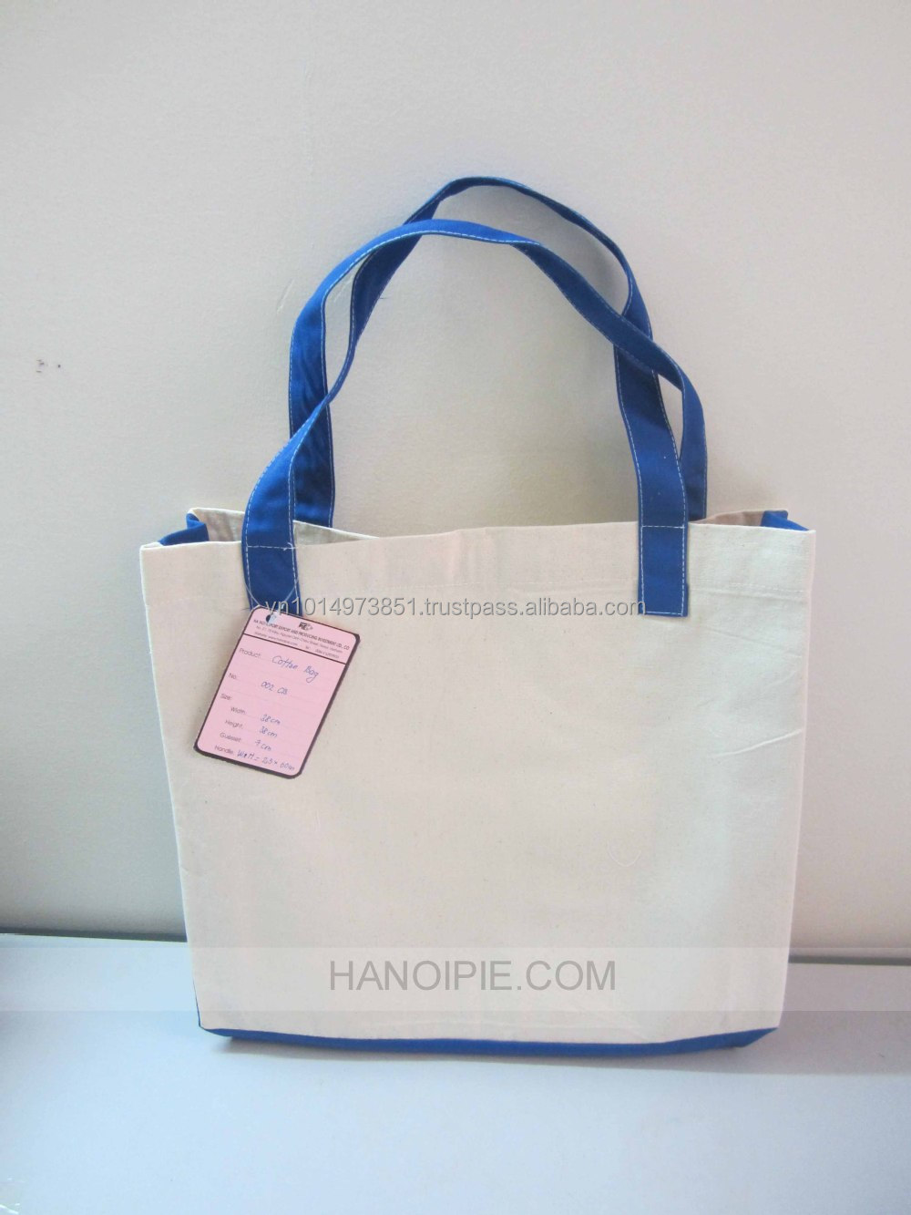 Promotional Cotton Handle Bag | Lovely Shopping Handbags
