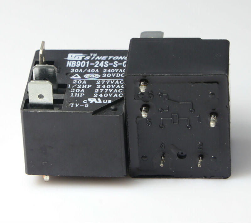 refrigerator relay prices miniature 24V 40A PCB type conversion power relay