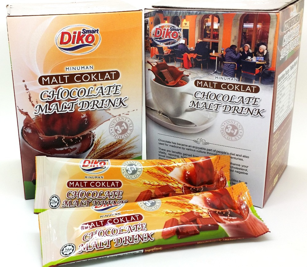Chocolate Malt Powder 3in1,Malaysia Product