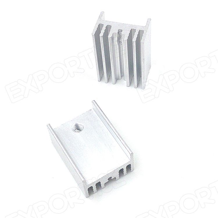 Aluminum Heatsink To-220 20*15*10mm To220 Cooling Heat Sink ...