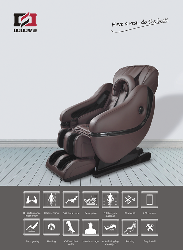 massage chair with leg massager. dla02 leg massager chair with zero gravity massage foot roller heating music i rest e