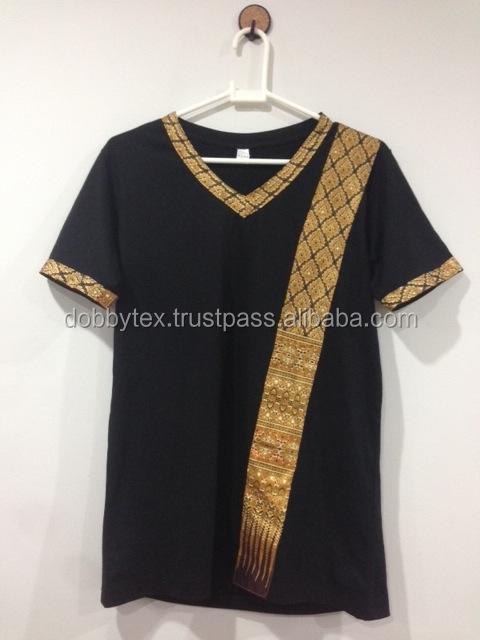 Spa t shirt thai pattern comfortable and original dobbytex for Uniform thai spa