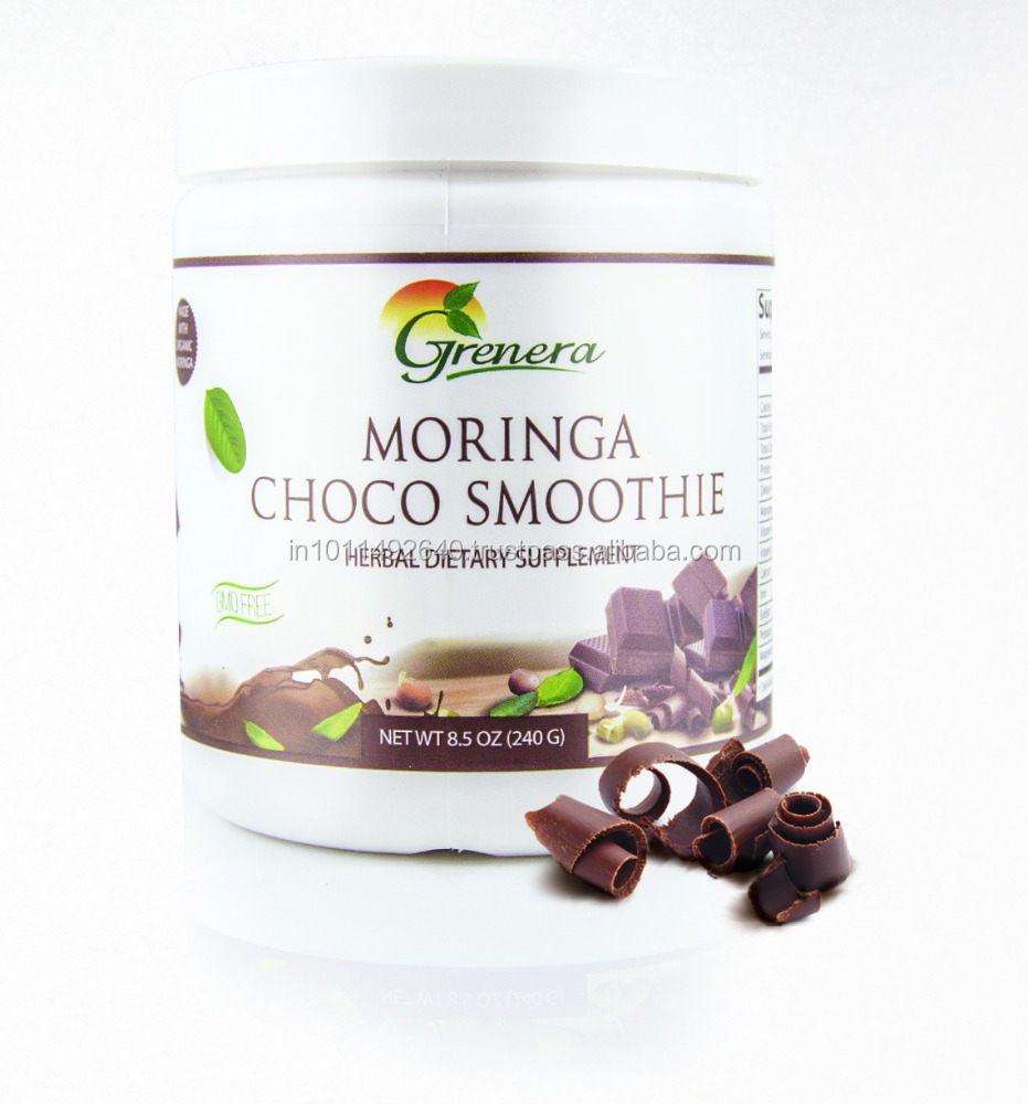Ultra Fine Quality No added sugar Choco powder -MORINGA SMOOTHIE POWDERS