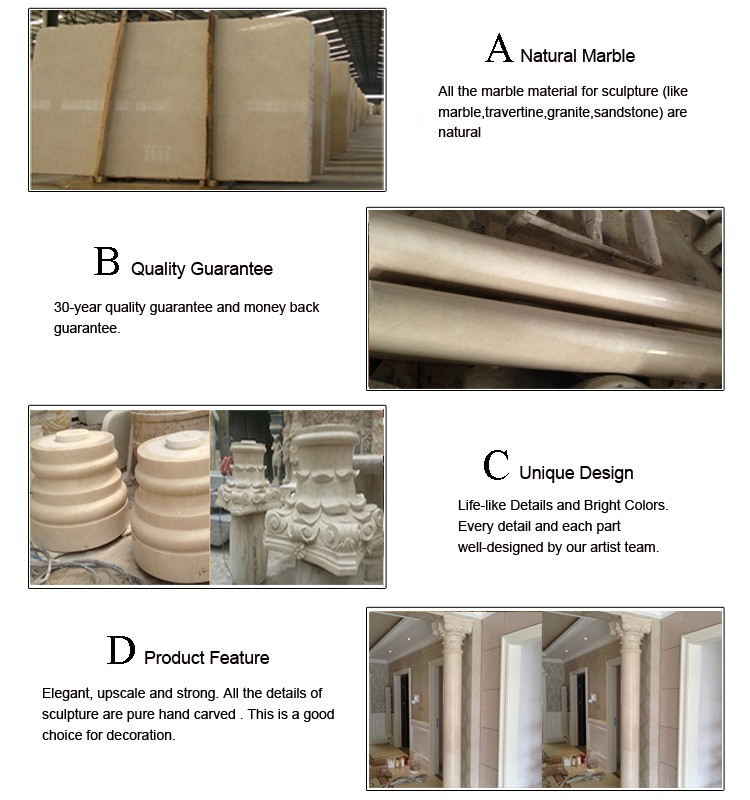 house stair used white carved marble decorative pillars for homes - Decorative Pillars For Homes