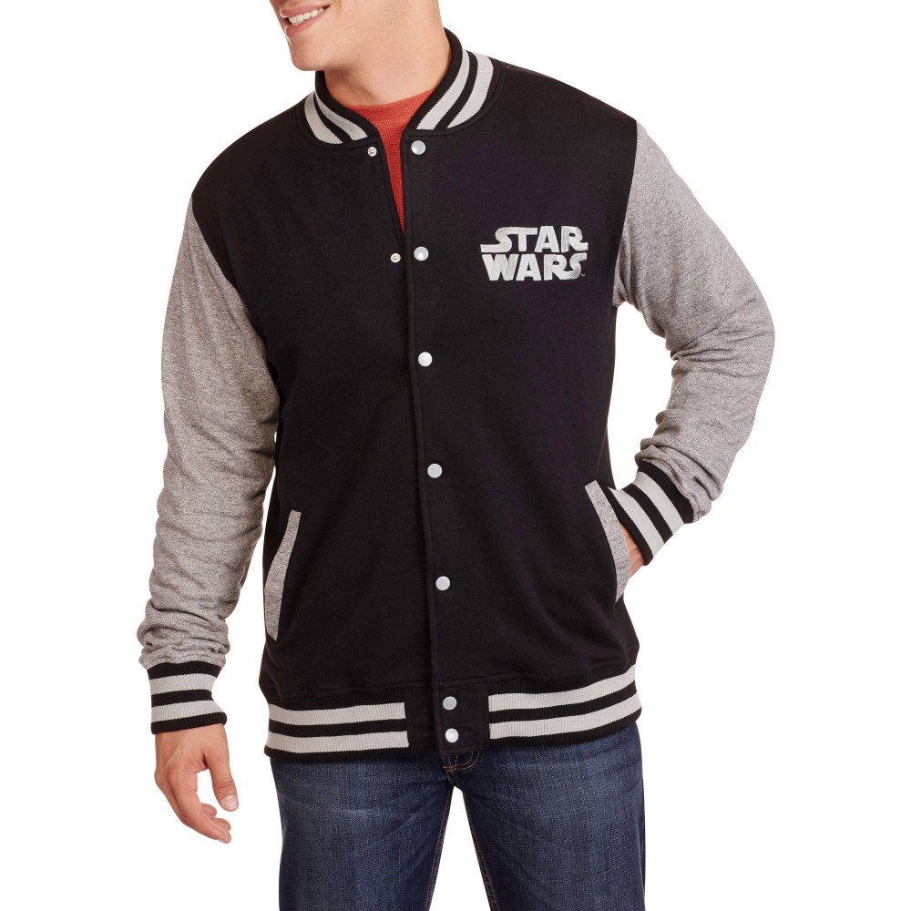c101f0e7100 winter outdoor windproof black adults man varsity jacket plus size with fashion  look