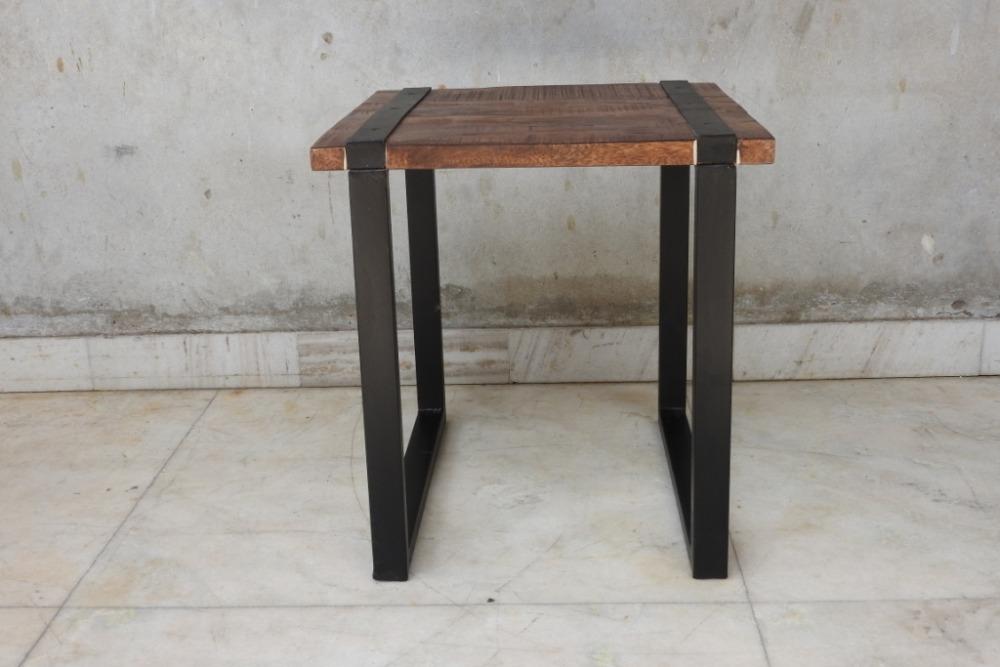 Mobili In Legno E Ferro : Vintage industrial tavolino mobili industriale riciclato legno e