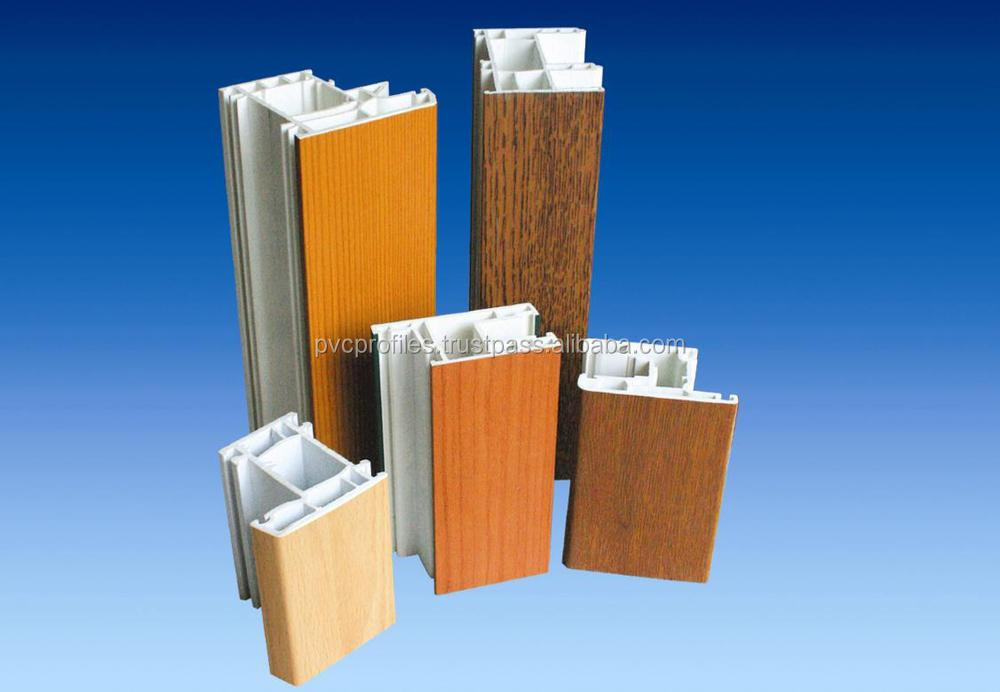 High Quality Upvc Profiles For Upvc Window And Door Used From ...