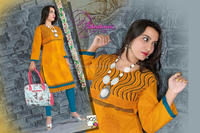 Fashionable latest new designs women pakistani designer long kurtis 2016 - Indian designer online clothing - Kurti with