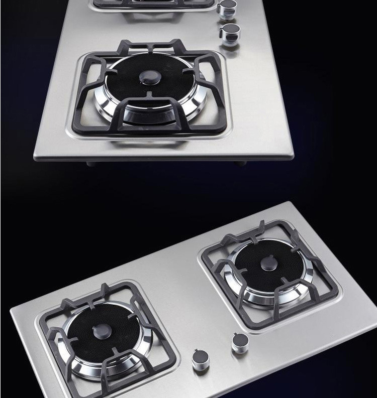 how to clean gas stove top stainless steel