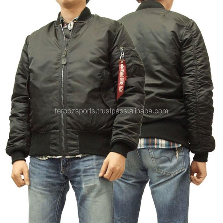 Classic Bomber Varsity Jacket Sublimation Printing Flight Jacket ...