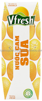 VFRESH ORANGE MOOTHIE PAPER BOX 250ML