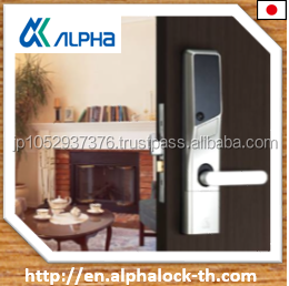 Japanese electric types of door locks for high level security with PIN code