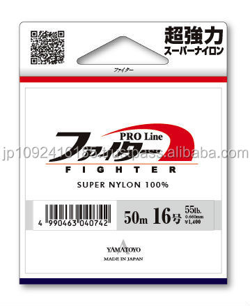 Easy to use fish fishing line , 50m/100m/150m/200m by Japanese supplier