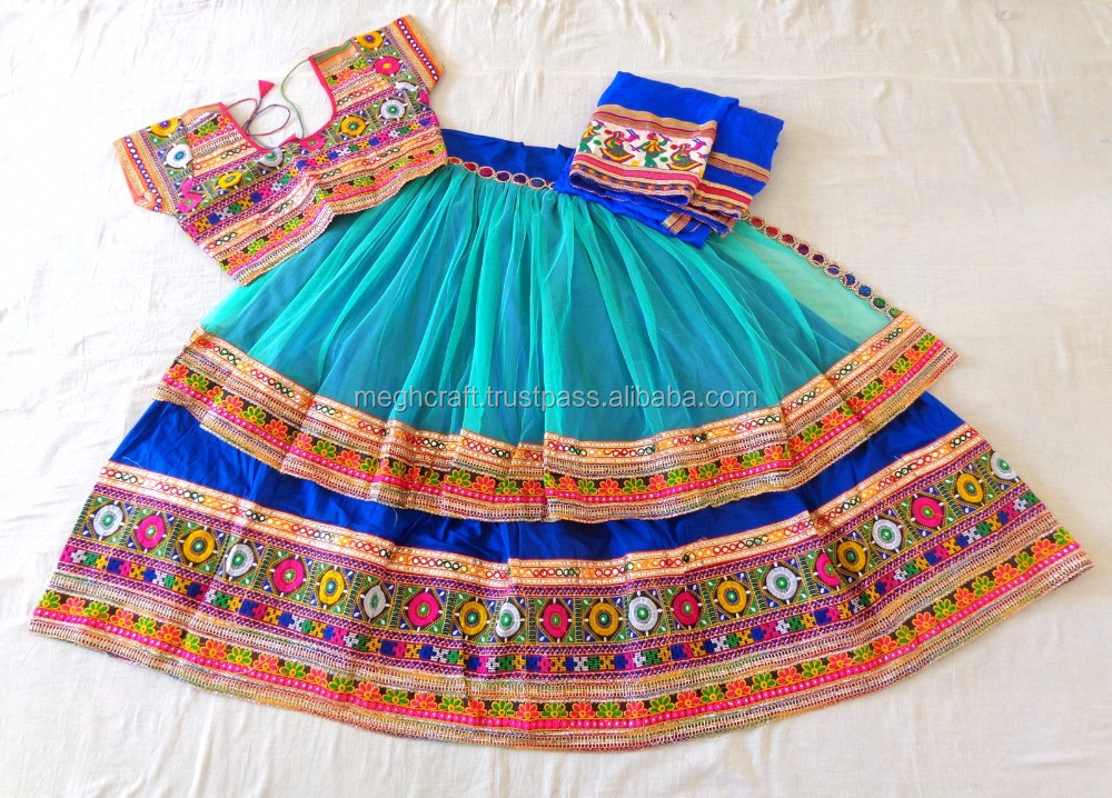 Navratri Ghagra Choli Wholesale Gujarati Chaniya Choli Designer