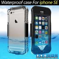 2016 New Arrival, IP 68 Case For iPhone SE 5s 5 IP68 10M Waterproof Case Dirt/Dust/Snow Proof Cover - Black