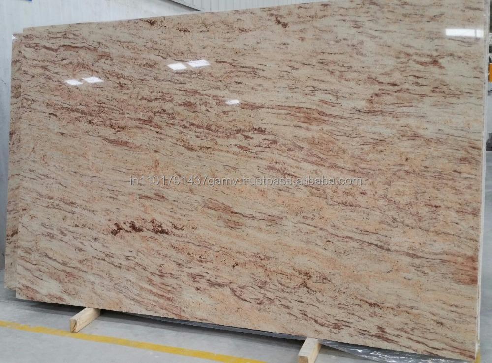 Marfil granito marr n 2 cm granito identificaci n del for Granito color marron