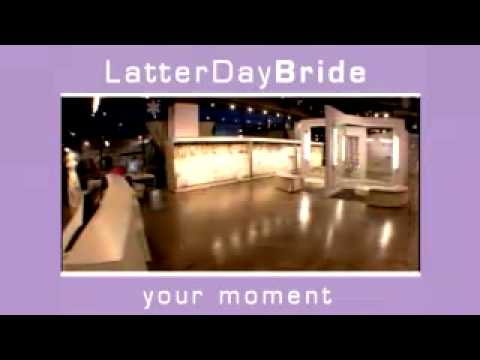 LatterDayBride & Prom Commercial featuring modest wedding gowns and modest prom gowns
