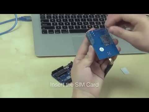 Tinysine GSM shield Working With Arduino UNO and Mega2560