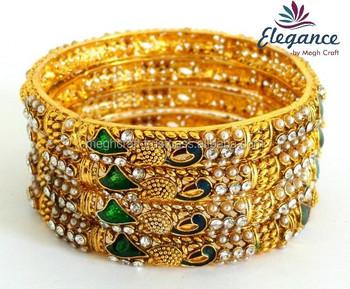 South Indian Bangles Bracelet Indian Imitation Bangles Bracelet