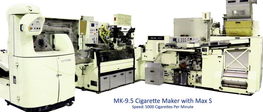 Tobacco Machinery: Filter Rod Maker Hauni Kdf2 - Buy