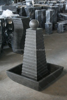 [wholesale] Ball & Pyramid Water Feature Terrazzo