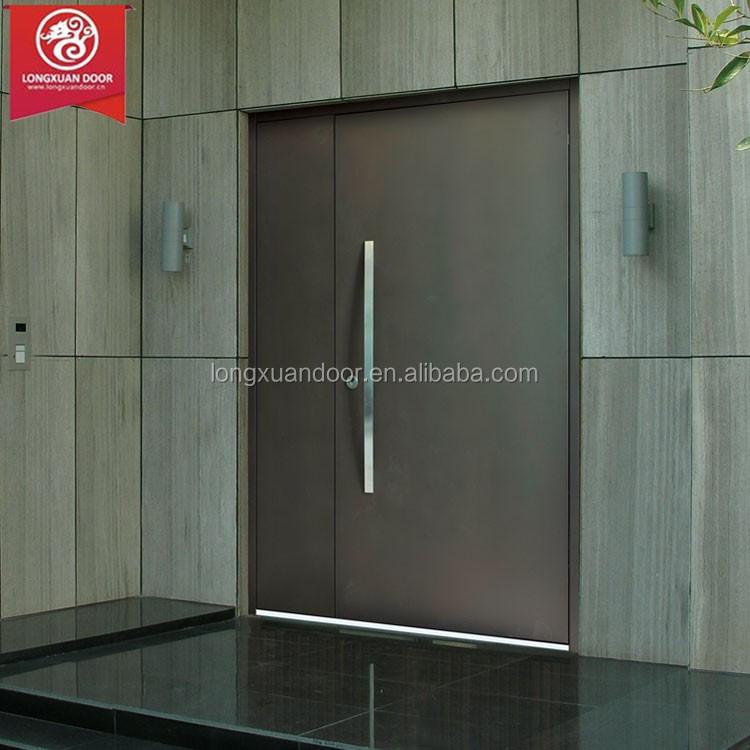 Modern Steel Security Door Design For Main Entrance Single
