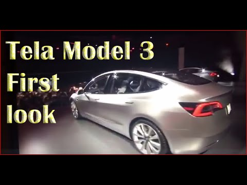 tesla model 3 first look | tesla model 3 unveiling | tesla model 3 test drive # C 67