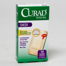 BENDE <span class=keywords><strong>SHEER</strong></span> <span class=keywords><strong>XL</strong></span> 10CT CURAD BOXED 2X4 #321028