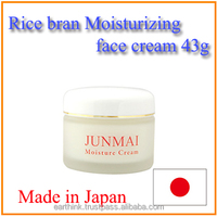 [Free sample]Japanese natural rice bran cosmetic Jun-mai Moisturizing Cream 43g