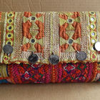 AUTHENTIC INDIAN OLD VINTAGE ANTIQUE TRIBAL BANJARA BAG/TOTE BAG/POUCHES/CLUTCH