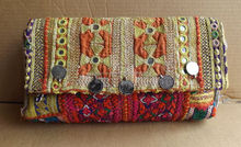 AUTHENTIC INDIAN OLD VINTAGE โบราณ TRIBAL BANJARA กระเป๋า/กระเป๋า/กระเป๋า/คลัทช์