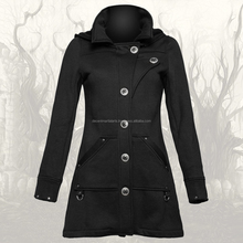 Wild Rose Ladies Hood Gothic Coat
