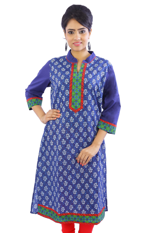 Exclusive Indian Jaipuri Handmade Hand Loom Cotton Hand Block ...