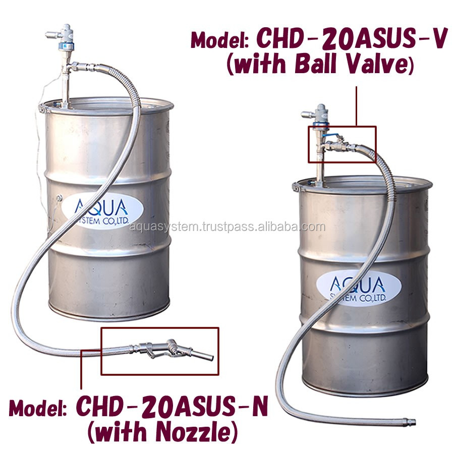 Convenient and Easy to use standard CHD-20ASUS-i pump with various type made in Japan