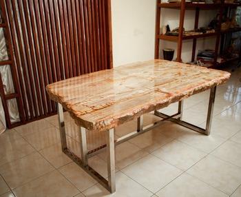 Tafel Versteend Hout : Versteend hout tafel buy versteend hout top tafel versteend hout