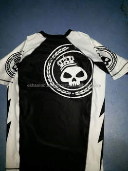2d069cb0d3f98 Camisa De Compressão Mma Bjj Rash Guard Melhor Jiu Jitsu Sublimação ...