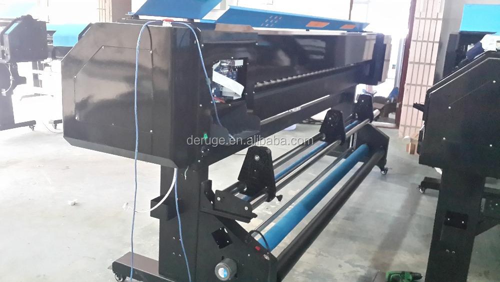 10 Feet Large Format Printer Challenger 3.2m Dx7/dx5 Eco Solvent ...