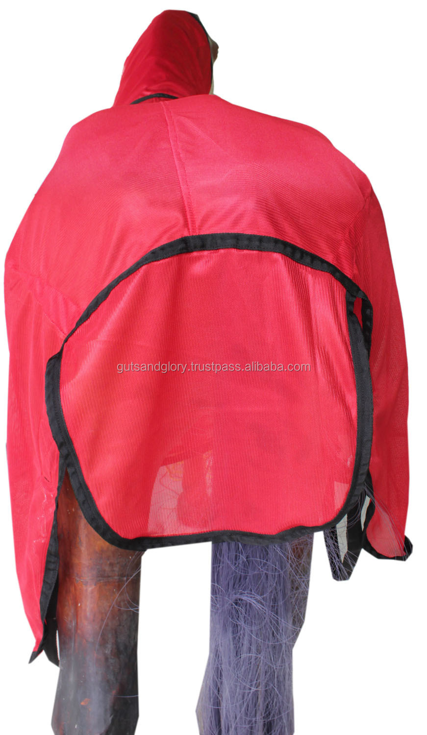 Horse Fly Sheet with neck Red Colour