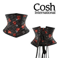 COSH INTERNATIONAL : Underbust Folly Sigh Brocade Waist Slimmer Corset Supplier