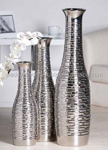 metal vase new vase silver vase flower vase wedding vase. Black Bedroom Furniture Sets. Home Design Ideas