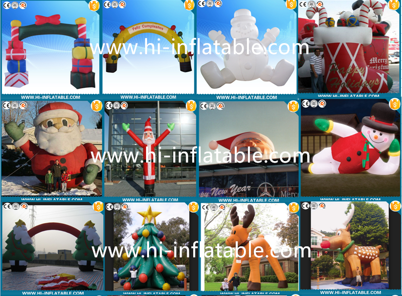 Hot Sale Funny Inflatable Christmas Decorations /inflatable Christmas Santa  Claus/santa Christmas Decorations