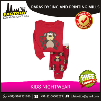 de3302aca Kids Cotton Sleep Wear In Various Sizes And Patterns From Mozak ...