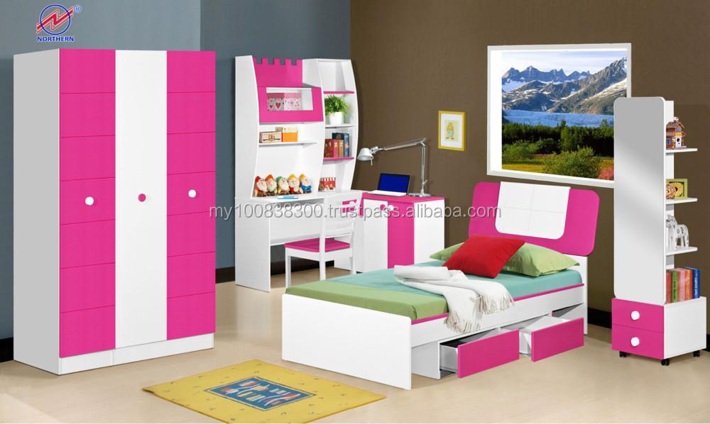 Slaapkamer Meubels Set : Moslim tieners enkele slaapkamer meubels set houten meubels buy
