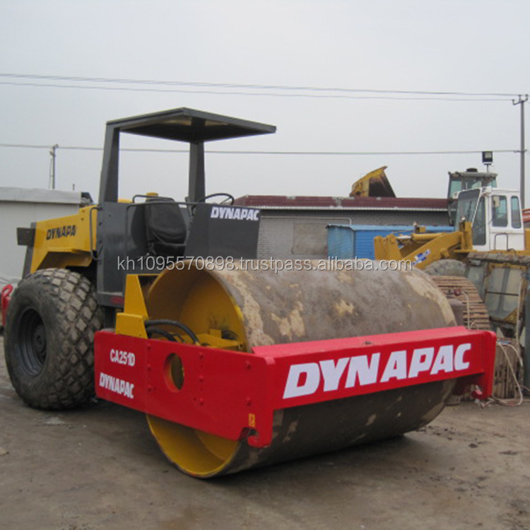 Cheap Dynapac used road roller CA251D , used compactor Dynapac CA251D