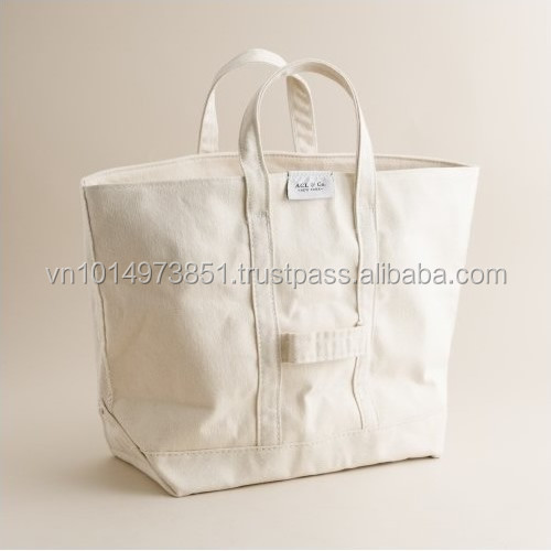original your custom words canvas bag with any color
