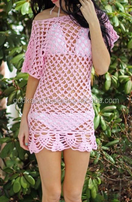 Crochet Tube Kleid Muster,Strand Häkeln Kleid Muster,Sexy Crochet ...